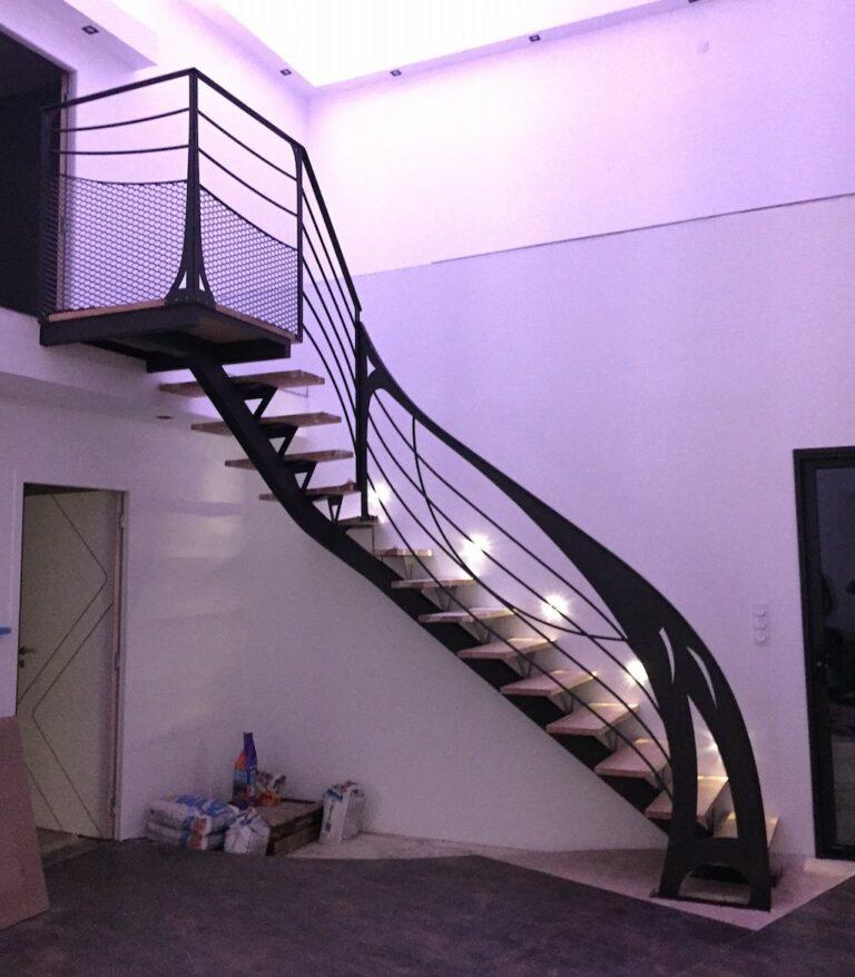 Création d'un escalier sur Cholet