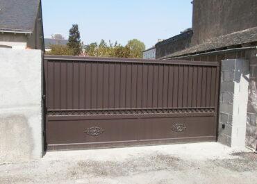 Installation d'un portail électrique